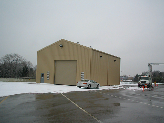 Drive Thru Inspection Building 5
