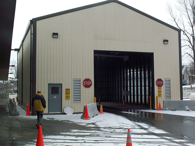 Drive Thru Inspection Building 1