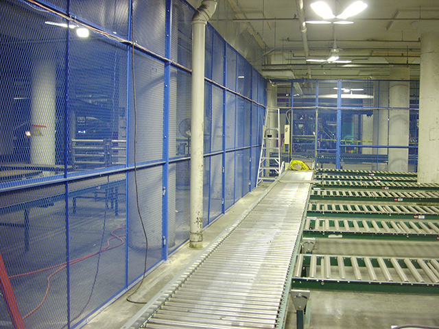 Secure Sorting Area 3