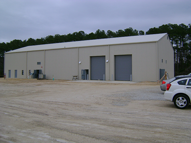 Vehicle Maintenance Building 1