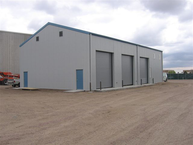 Vehicle Maintenance  Building 3