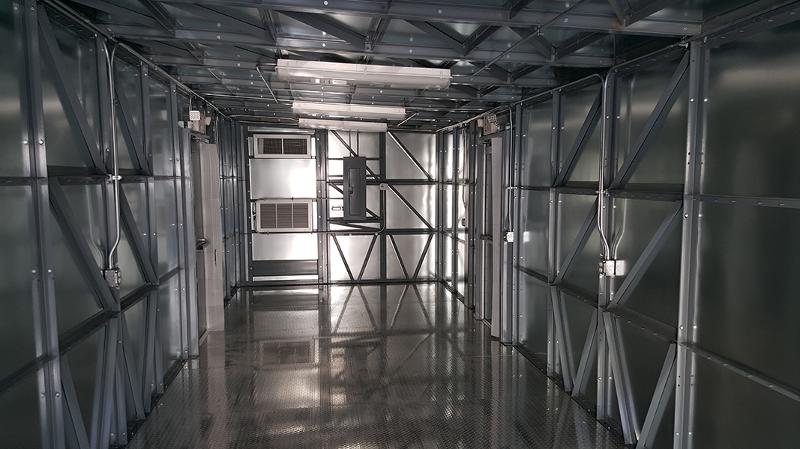 Galvanized with Aluminum Floor