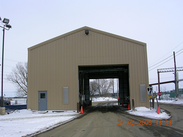 Drive Thru Inspection Building 4