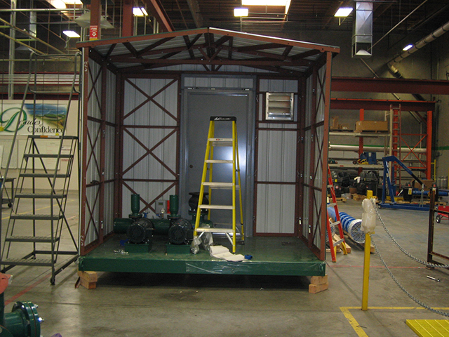 Pump House Skid Enclosure
